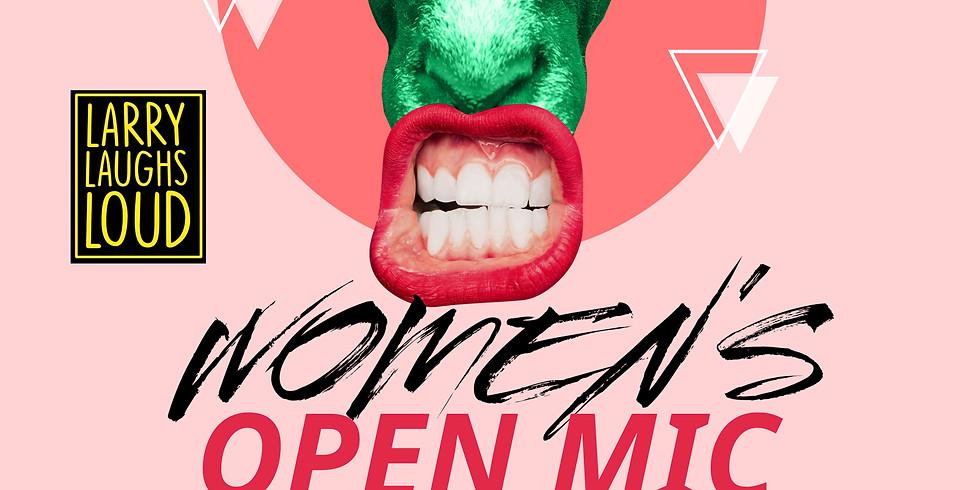 Womens' Open Mic Comedy