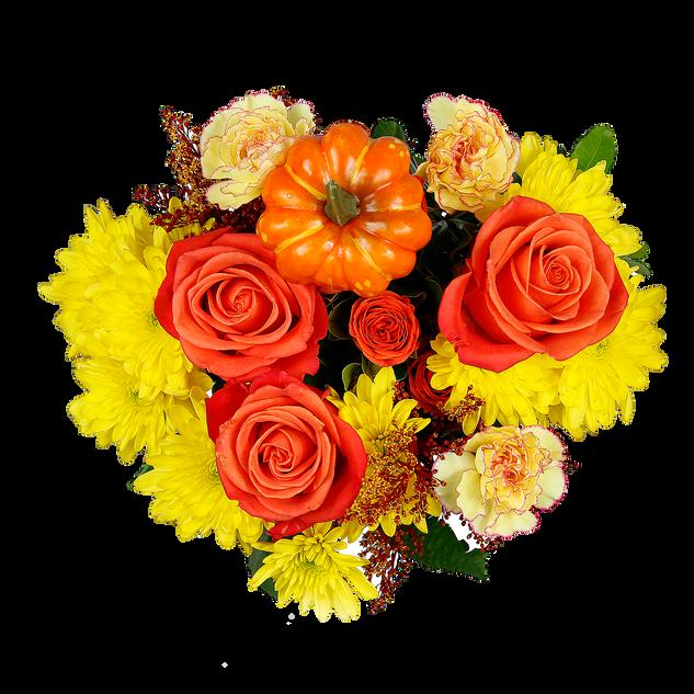 Pumpkin Mixed Bouquet Enhanced