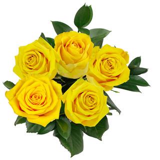 Lemon Rose Bunch Natural
