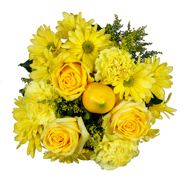 Lemon Natural Mixed Bouquet