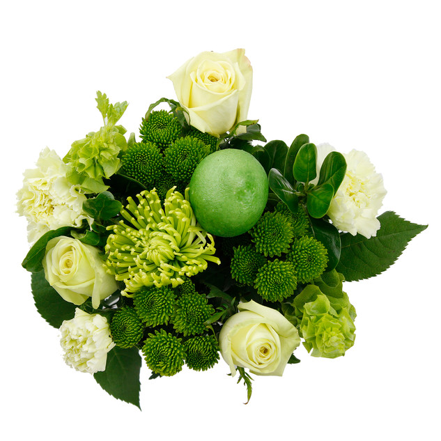Lime Natural Mixed Bouquet