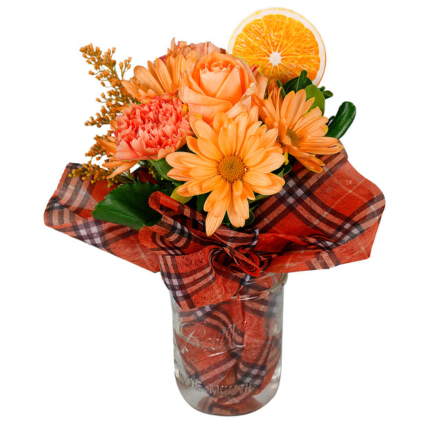 Orange Arrangement Enhanced
