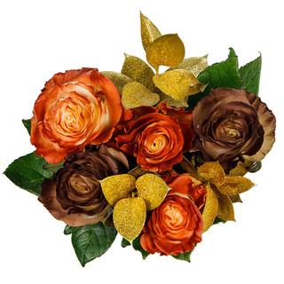 Cinnamon Rose Bunch Enhanced