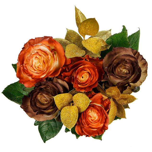 Cinnamon Enhanced Rose Bouquet