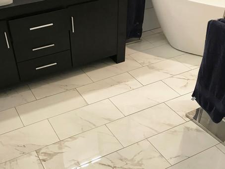 Tile Floor vs Vinyl Planks In Bathroom. Pro's and Cons