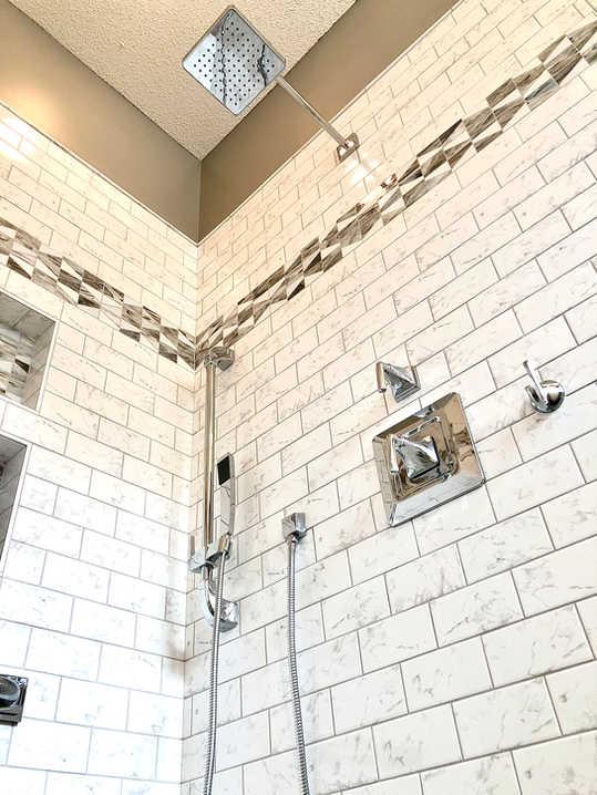 Custom Bathroom Remodel Completed By Premium Design LLC.