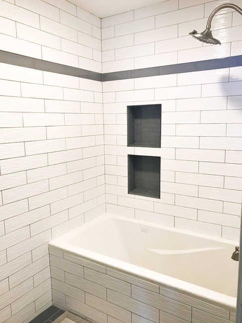Simple Yet Elegant Bathroom Remodel By Premium Design LLC.