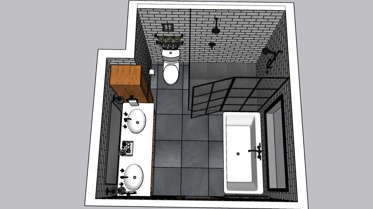 3D Bathroom Remodel Design