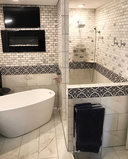 Custom Style Bathroom Design and Remodel Provided For A Twin Cities Home By Premium Design LLC.