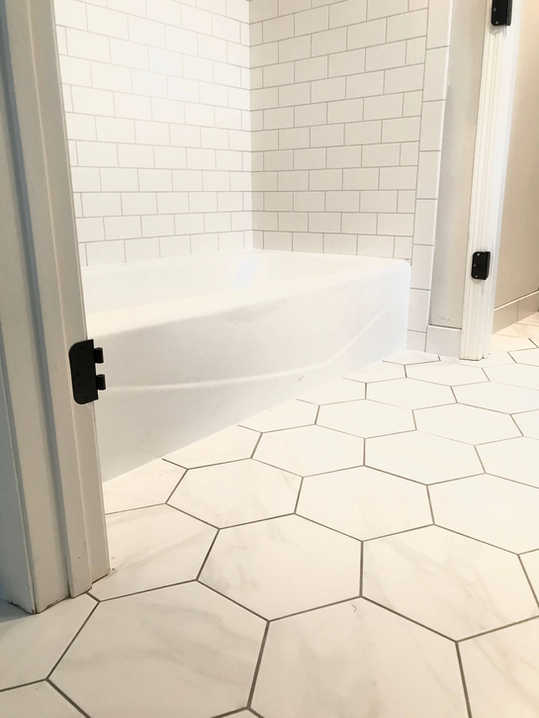Custom Bathroom Remodeling Includes Custom Tile.