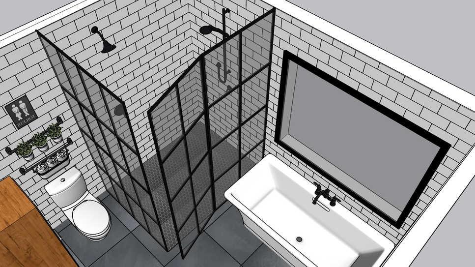 Custom Modeling For Bathroom Design Services Provided By Premium Design LLC.