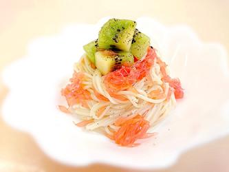 Fresh fruits cappellini /フルーツの冷製カッペリーニ