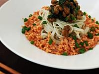 Jerusalem artichokes of noodle / 菊いも麺の糖尿病レシピ