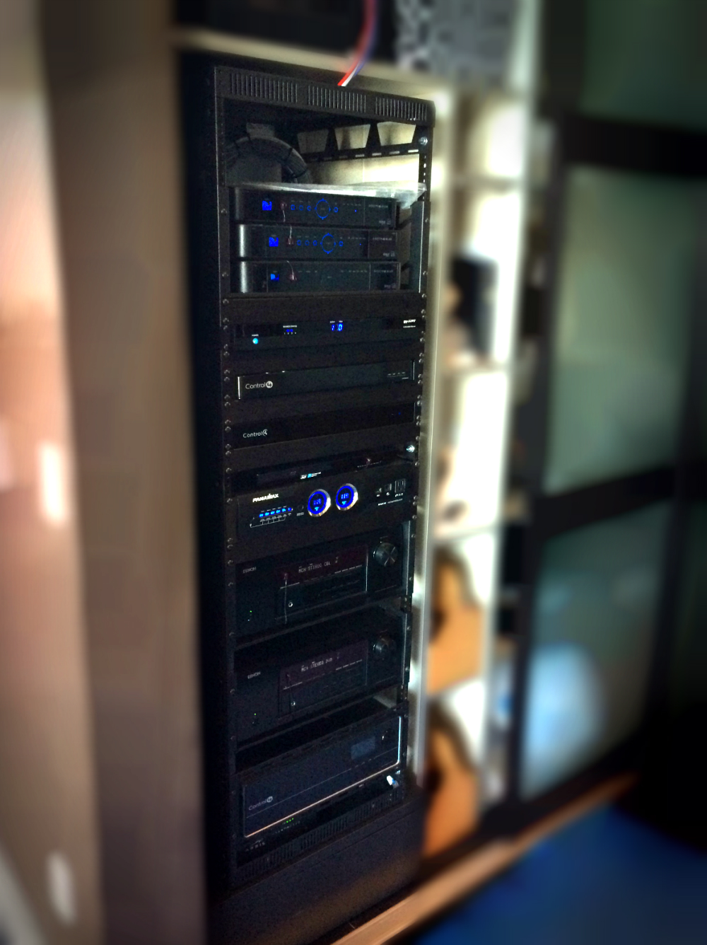 Home AV and Automation Rack