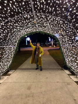 Shaheen at City of Pickering Tree Lighting