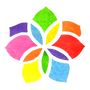 Cromasomos Logo Color Flower