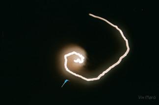 Spiralling Moon