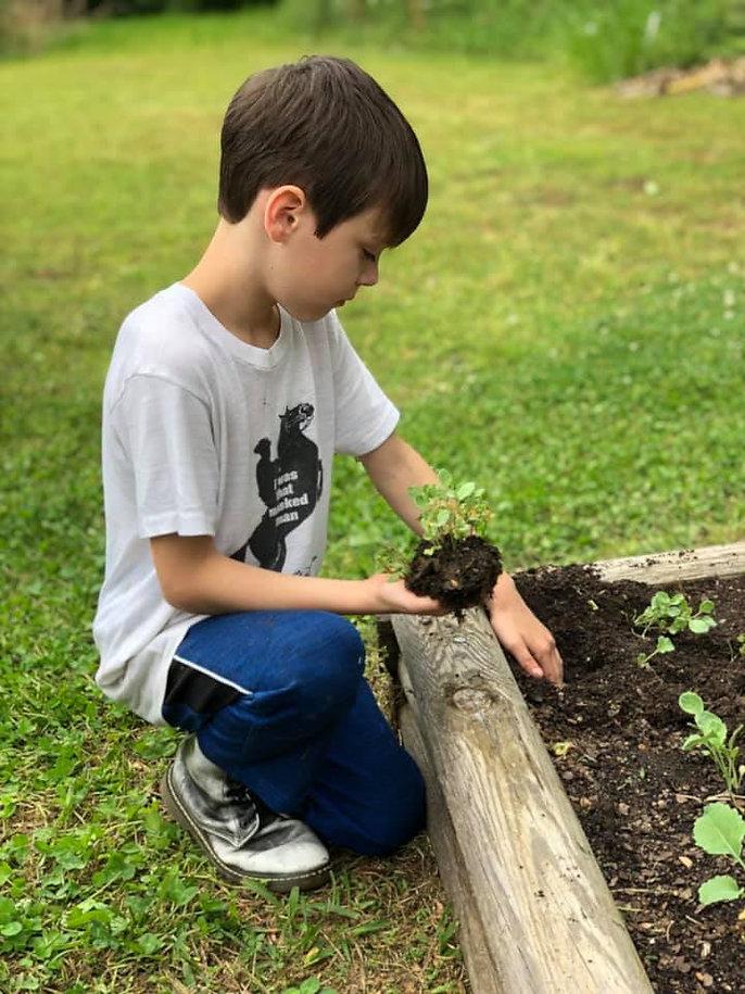 Ranger Working the Garden.jpg