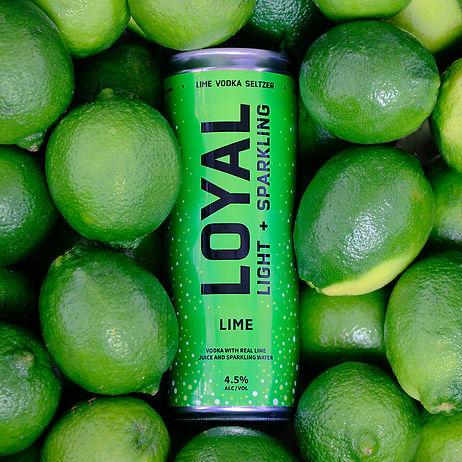 Loyal Lime Vodka Seltzer