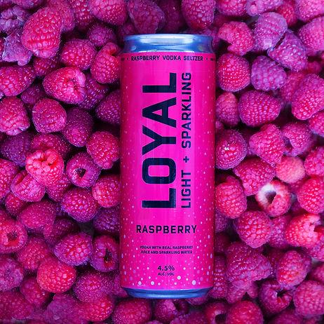 Loyal 9 Cocktails Raspberry Vodka Seltzer.jpg