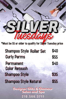Copy of Silver Night Party Flyer Design