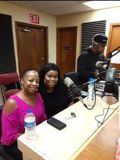 Ledale station KROV FM.jpg