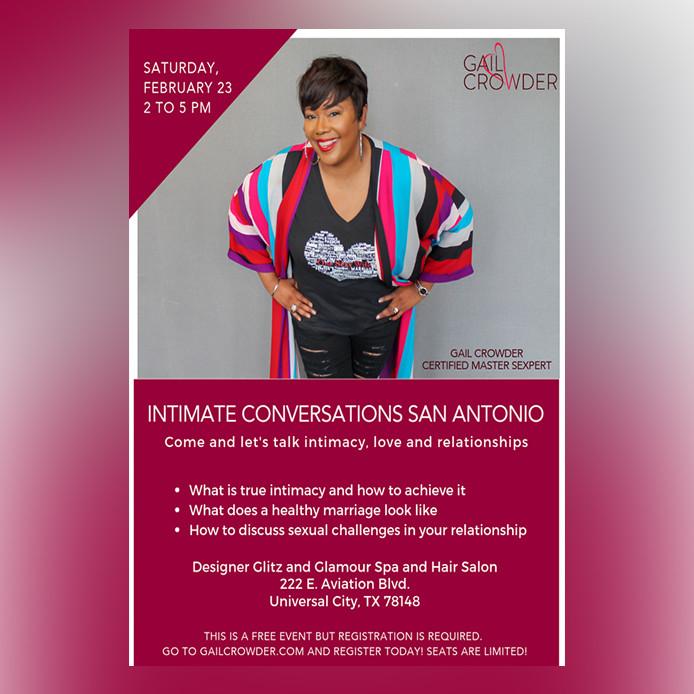 Intimate Conversations San Antonio