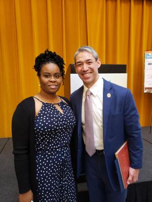Mayor Ron Nirenberg of SATX and  LeDale.