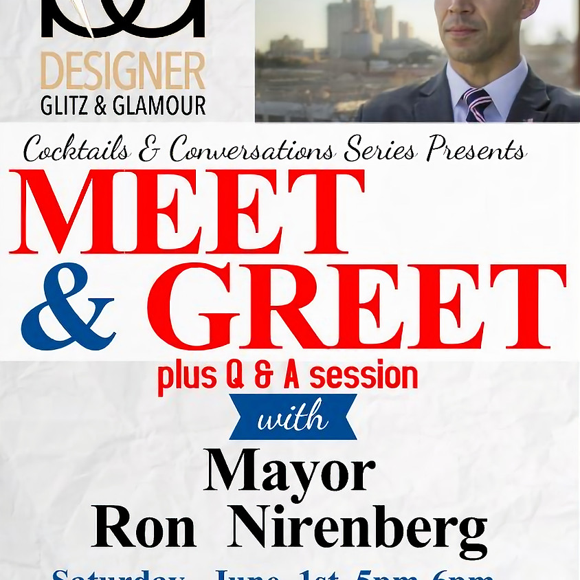 Meet & Greet plus Q & A session with Mayor Ron Nirenberg (1)