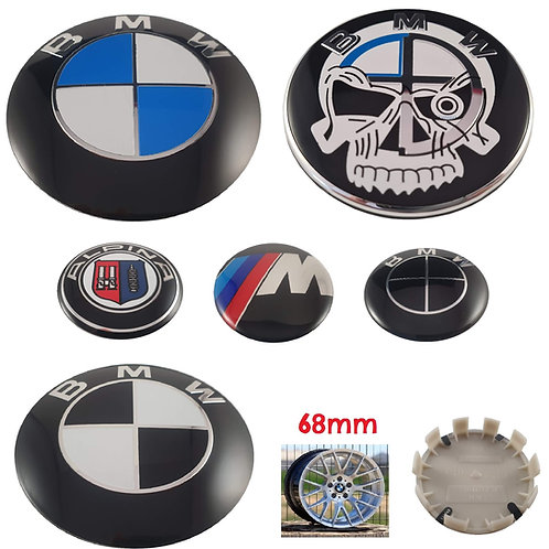 Logo - Emblema BMW Llantas 68 mm 10Pin
