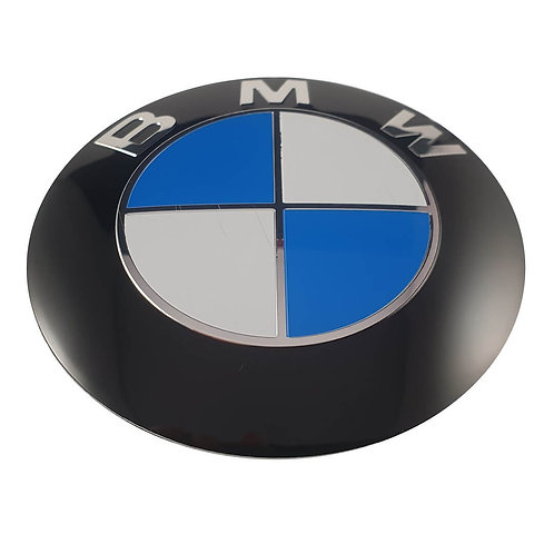 Emblema BMW Capó 82 mm Modelo ABS 3 Pin