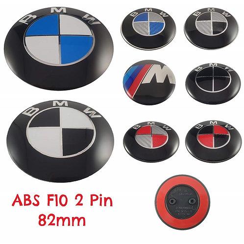 Emblema BMW Capó 82 mm Modelo ABS F10 2 Pin