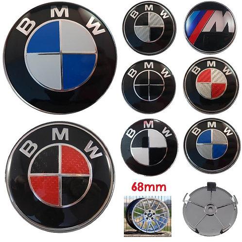 Logo - Emblema BMW Llantas 68 mm