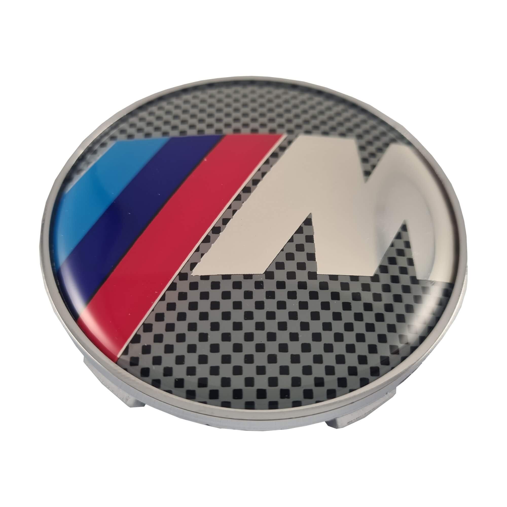 Alpina LUDOSTREET ref0003 Logo Emblema Insignia Anagrama Llanta Rueda Auto Coche Compatible con BMW 68mm 5 Pins