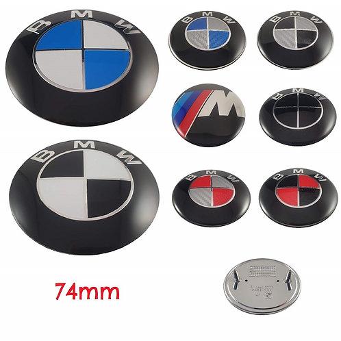 Logo - Emblema BMW Maletero 74 mm