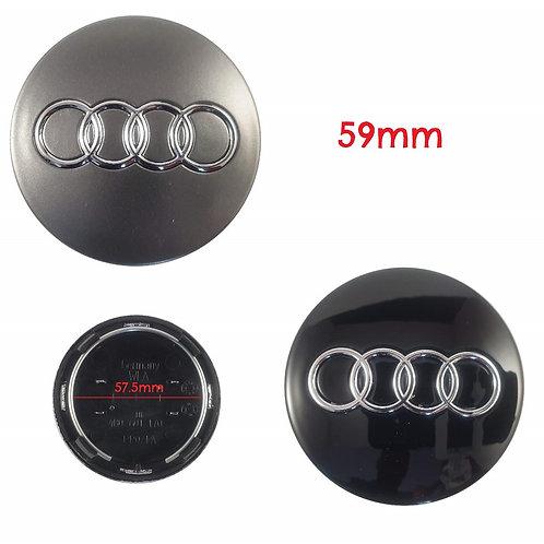 Logo - Emblema Audi Llantas 59mm