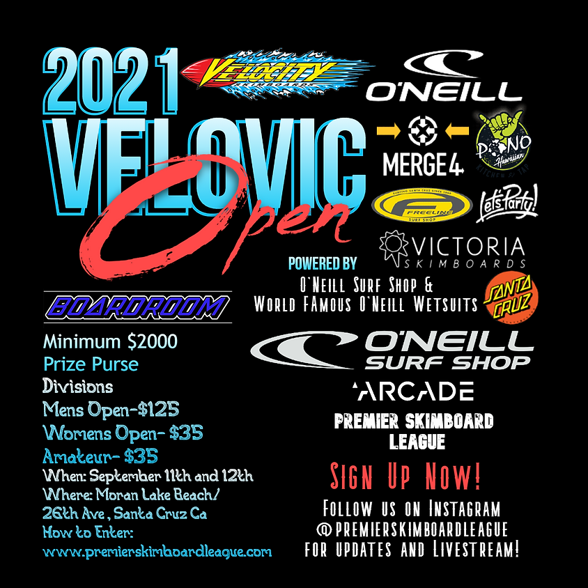 2021 VeloVic Open Powered by O'Neill Surf Shop and World Famous O'Neill Wetsuits