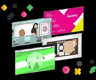Forward content - capacitación en linea disruptiva