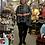 Thumbnail: Boho plus size top in soft Rayon knit