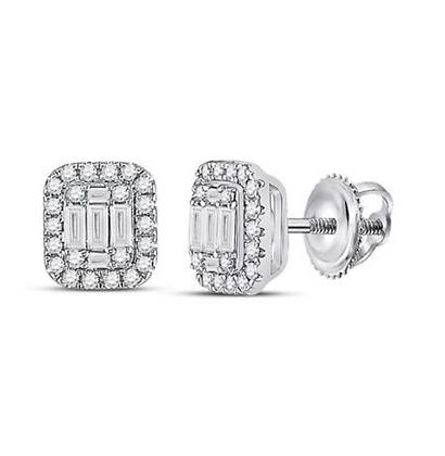 0.88 CTW Diamond Composite Stud Earrings