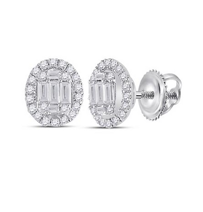 0.40 CTW Diamond Composite Stud Earrings