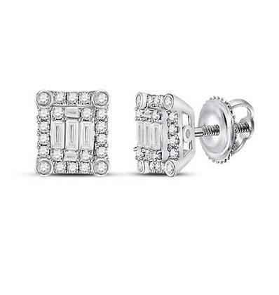 0.38 CTW Diamond Composite Stud Earrings