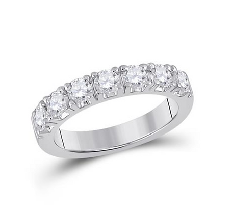 1.00 CTW Diamond Prong Band