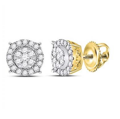 0.25 CTW Diamond Composite Stud Earrings