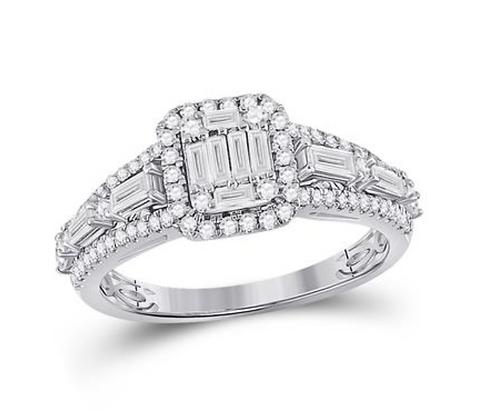 0.90 CTW Diamond Ring