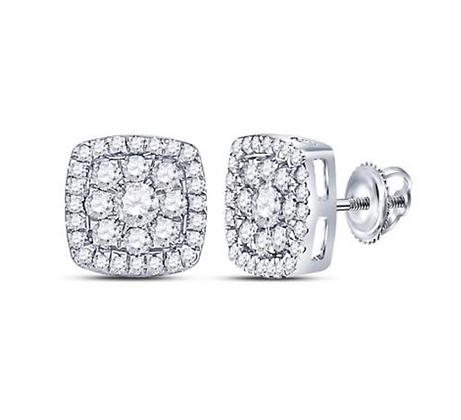 1.25 CTW Diamond Composite Stud Earrings