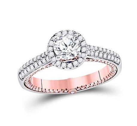 1.50 CTW Certified Diamond Ring