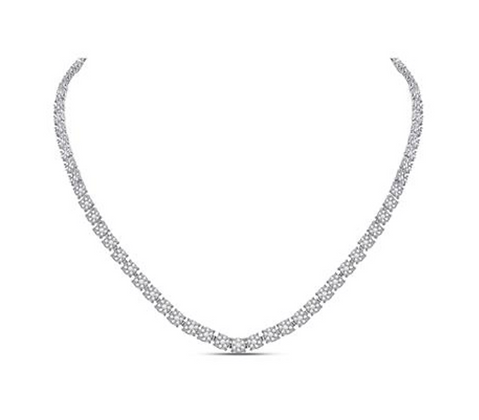 8.25 CTW Diamond Composite Necklaces
