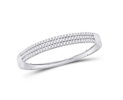 3.00 CTW Diamond Bangle Bracelet