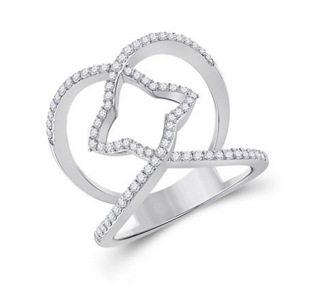 0.50 CTW Diamond Fashion Ring